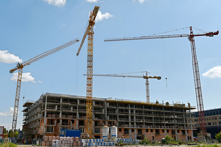 Dinamikusan növekedett a lakásépítések száma