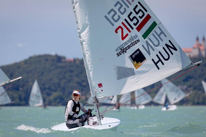 Érdi Mária nyerte a flottabajnokságot a Balatonon