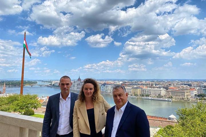 Orbán Viktornál járt Hosszú Katinka