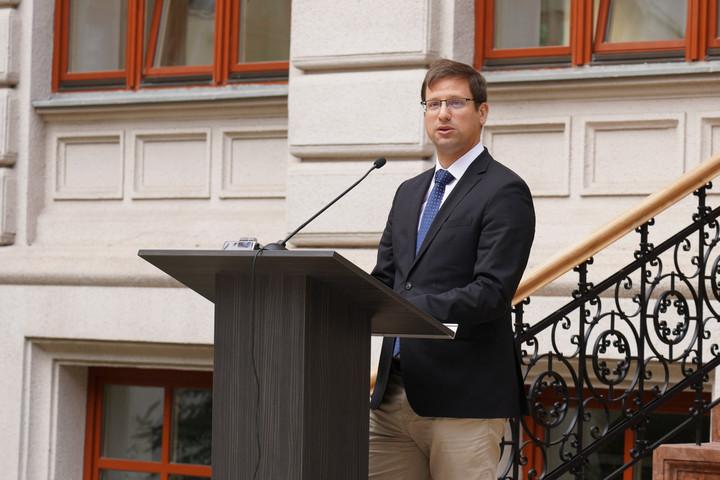 Gulyás: Az elmúlt időszak építkezéseinek legszebb szimbóluma a Ludovika