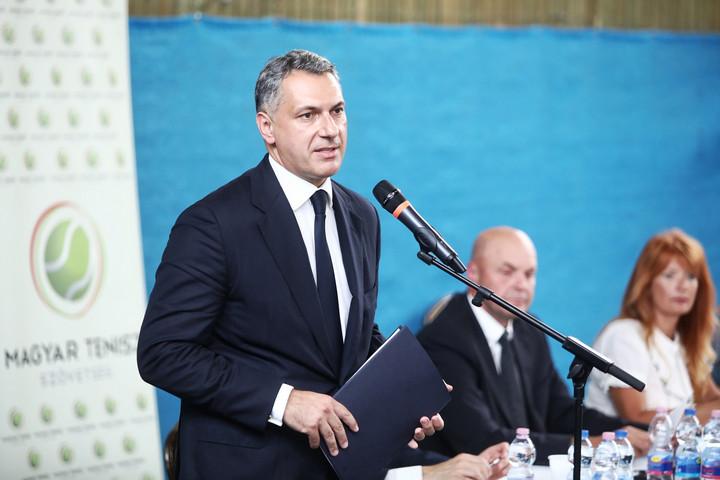 Lázár János lett a Magyar Tenisz Szövetség elnöke