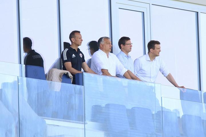 Orbán Viktor megtekintette a Vasas új stadionját