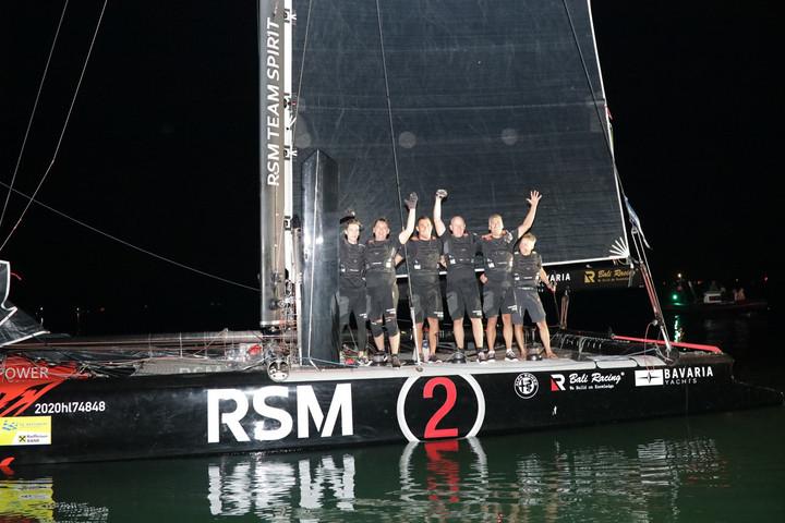 Az RSM2 futott be elsőként az 52. Kékszalag Nagydíjon
