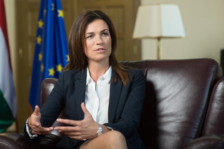 Varga Judit: A jogállamiság nem válhat politikai zsarolóeszközzé