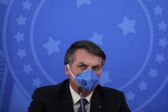 Koronavírusos a brazil elnök