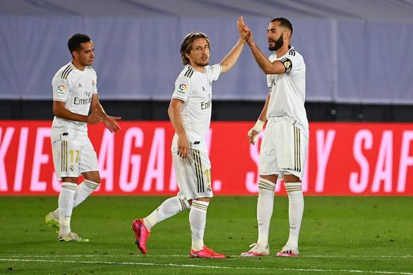 Ismét nyert a Real Madrid