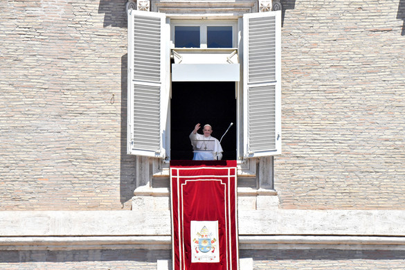 Ferenc pápa ismét globális tűzszünetet szorgalmazott