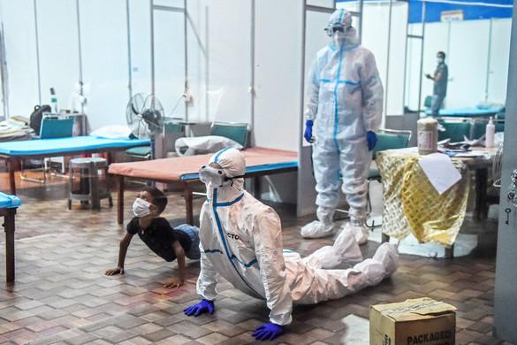 Négymillió fertőzött lehet Újdelhiben