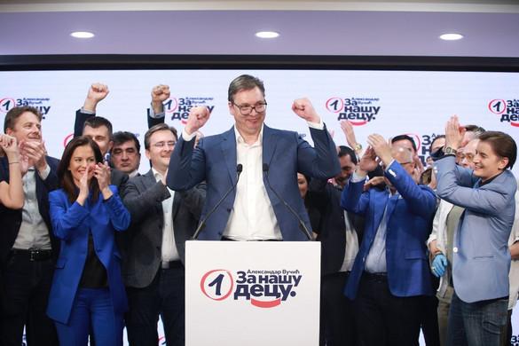 A hivatalos végeredmény is a Szerb Haladó Párt elsöprő győzelmét erősítette meg