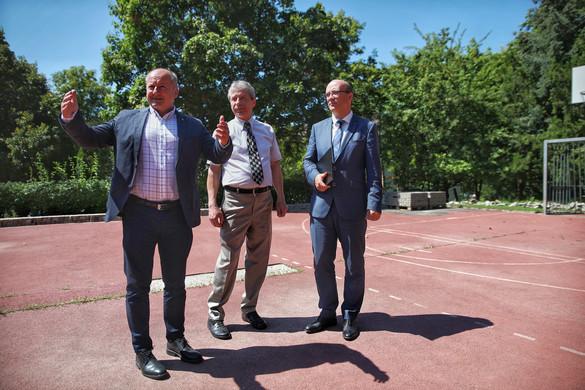 Új tornacsarnokkal bővül az Újbudai Ádám Jenő Általános Iskola
