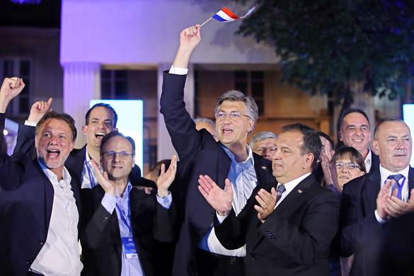 Komoly jobboldali siker Horvátországban