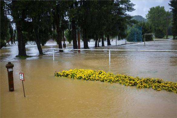 Néhány megyét nagyon megviselt a nagy eső
