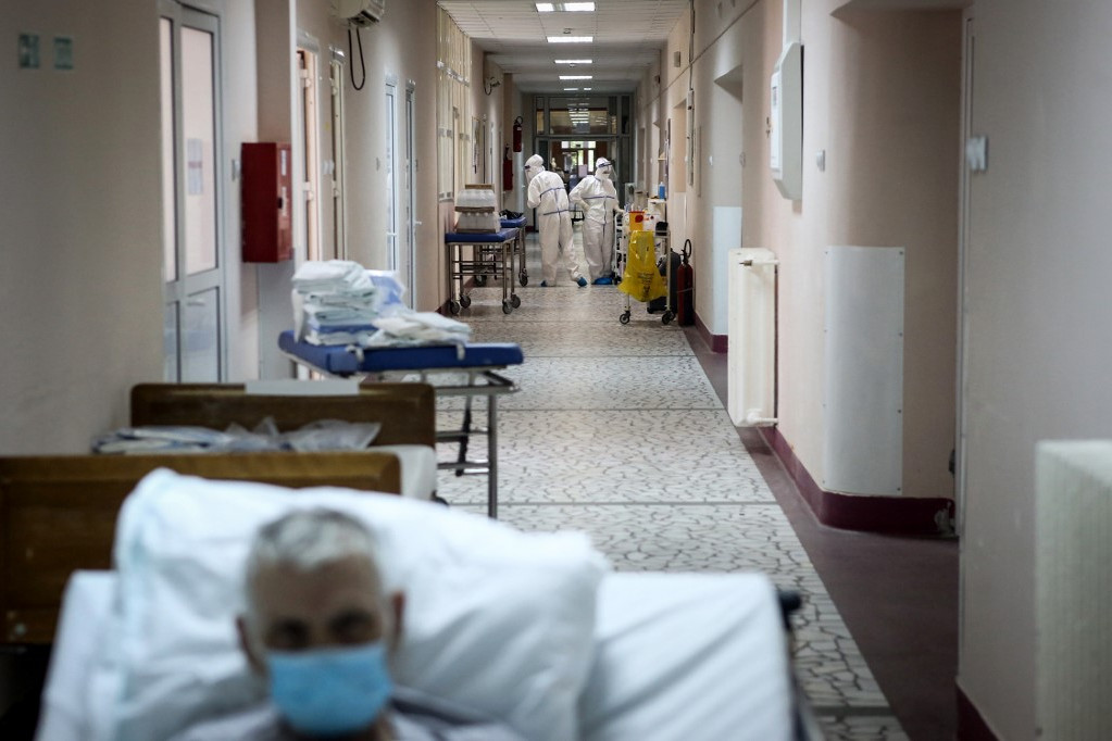 Életkép egy belgrádi kórházban