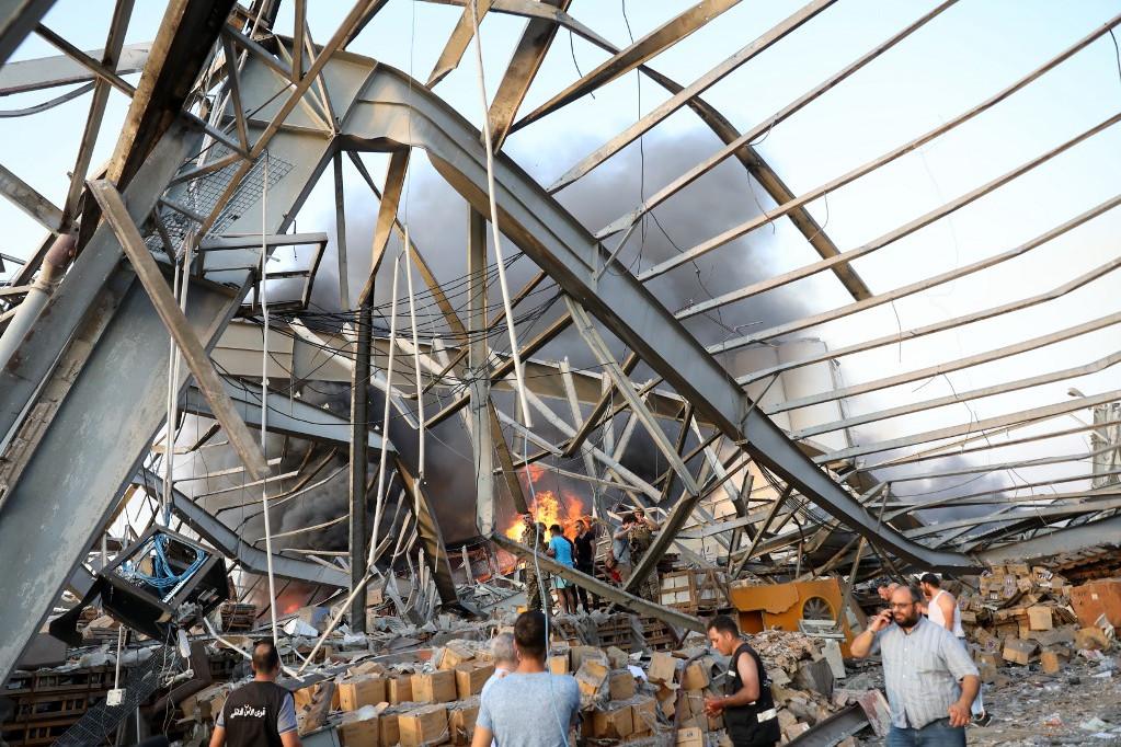 Több tonnányi nitrát robbanhatott fel