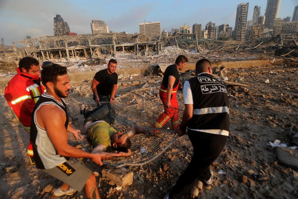 A robbanásnak több mint 100 sebesültje van