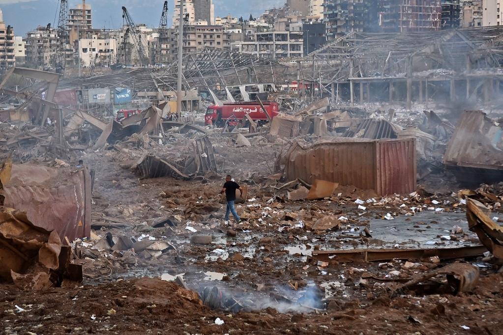 Katasztrófa Bejrútban - Szörnyű pusztítást végzett a robbanás