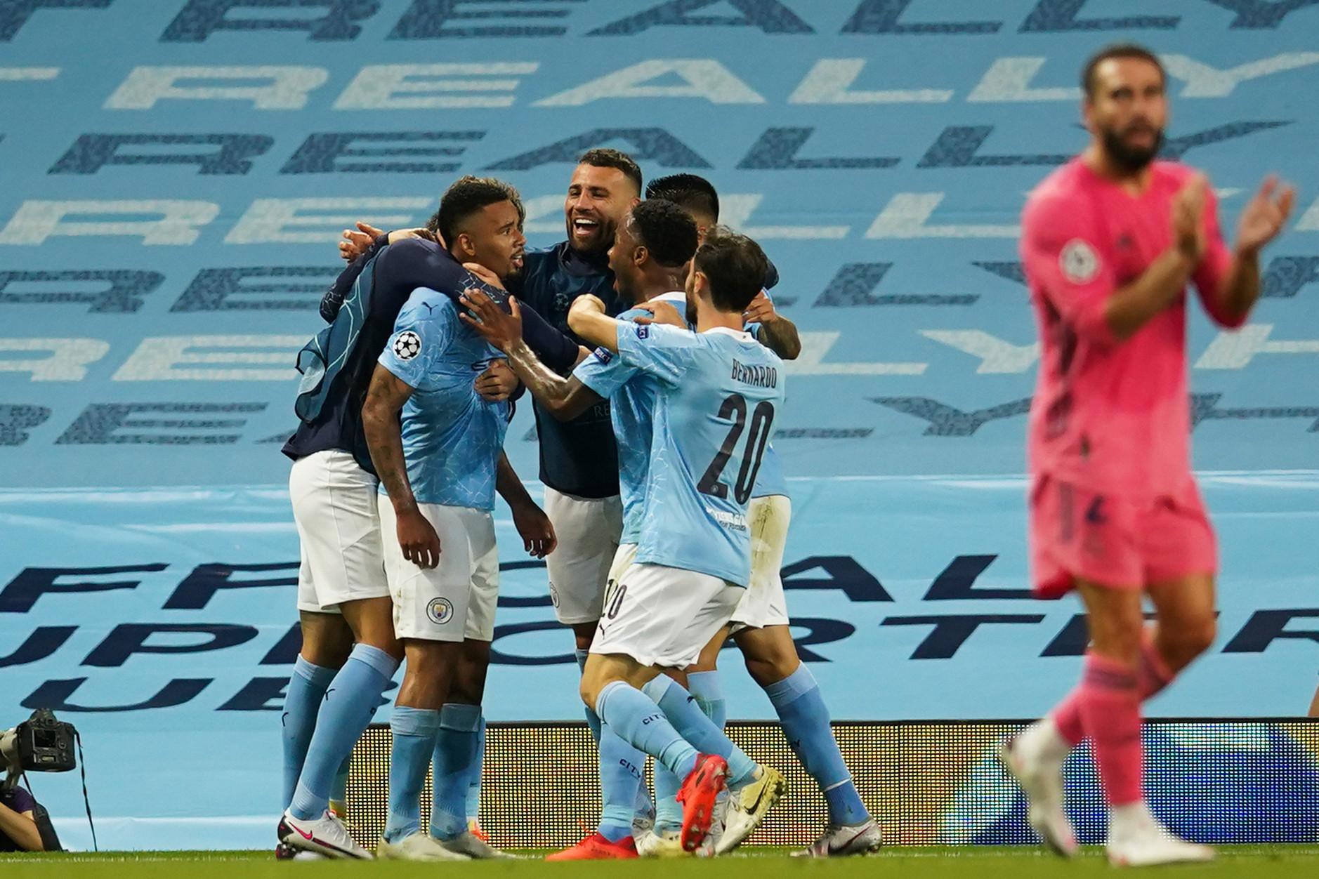 A Manchester City kétszer is kihasználta a madridi védők hibáit