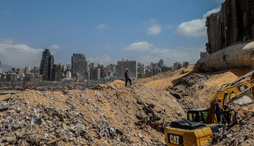 Bejrútban kedd este történt a robbanás
