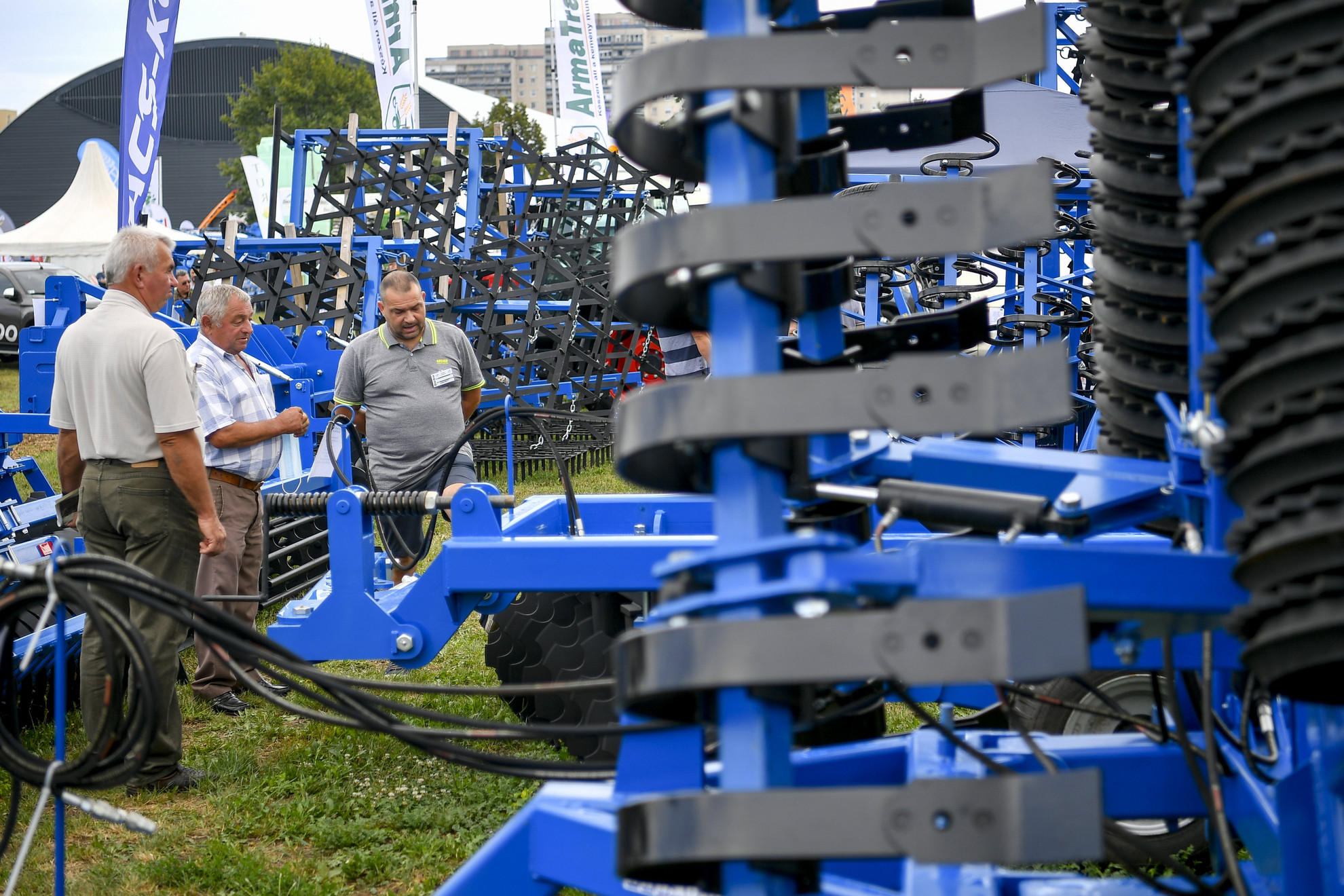 A 29. Farmer Expo a megnyitó napján Debrecenben