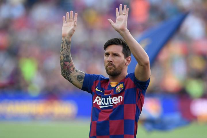 A Manchester Cityben köthet ki Lionel Messi