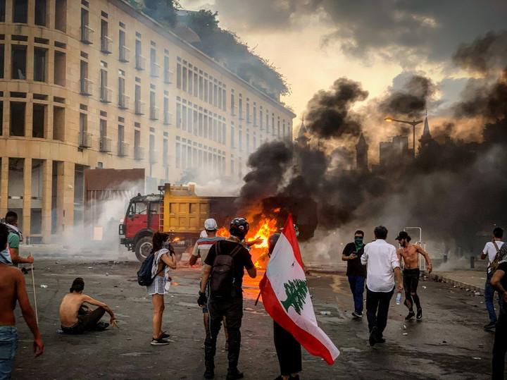 A libanoni ellenzék rendkívüli választásokat követel