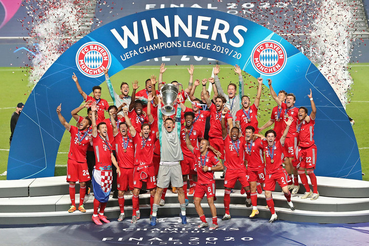 A Bayern Európa legjobbja