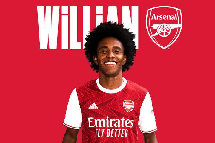 Az Arsenalhoz igazolt Willian