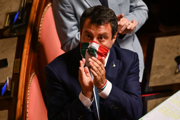"""""""Politikai indíttatásúnak tekinthető a Salvini elleni eljárás"""""""