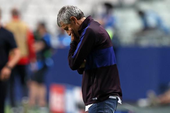 Menesztik az FC Barcelona vezetőedzőjét