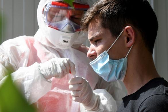 Horvátországban második napja rekordmértékű az új fertőzöttek száma