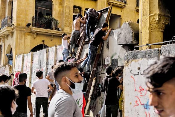 Zavargások törtek ki Bejrútban