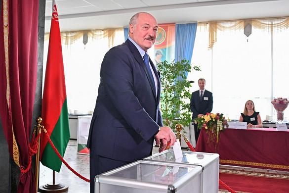 Ismét tarolt Lukasenka