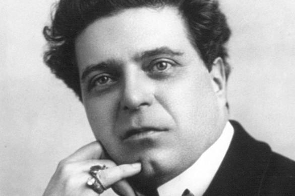 Pietro Mascagni hetvenöt éve halt meg