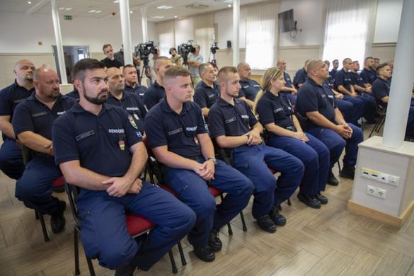 Ismét magyar rendőrök indultak Észak-Macedóniába