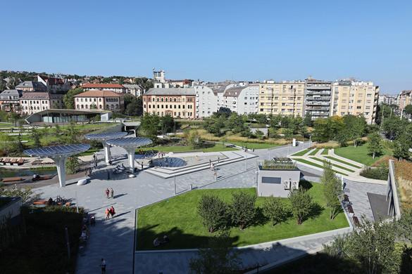 Buda egyik legnagyobb városi parkja lett a megújult Millenáris
