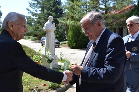 Mindszenty Emlékérmet kapott Pákh Tibor