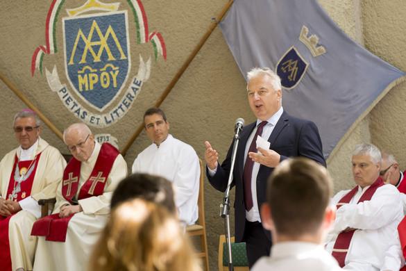 Semjén: A magyar kormánynak fontos a keresztény civilizáció védelme