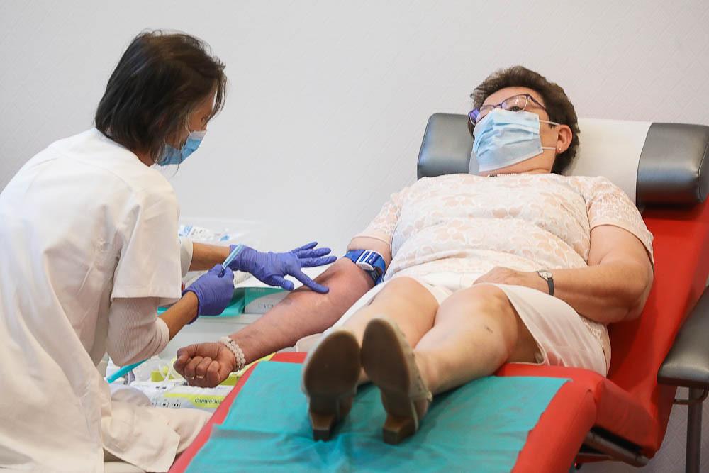 Az országos tisztifőorvos véradással csatlakozott a programhoz