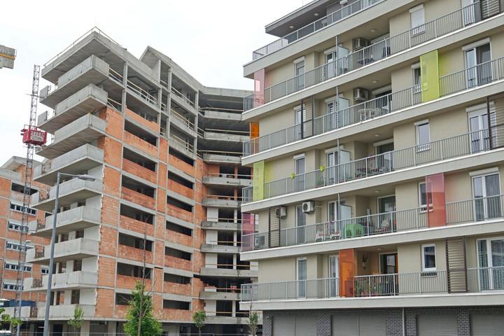 Tizenegy éves rekordot értek el tavaly az új építésű lakások