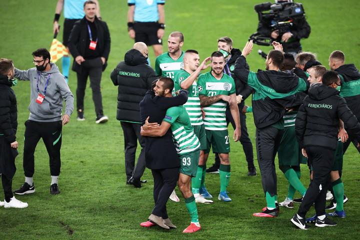 Örömünnep: huszonöt év után ismét a Bajnokok Ligájában a Ferencváros