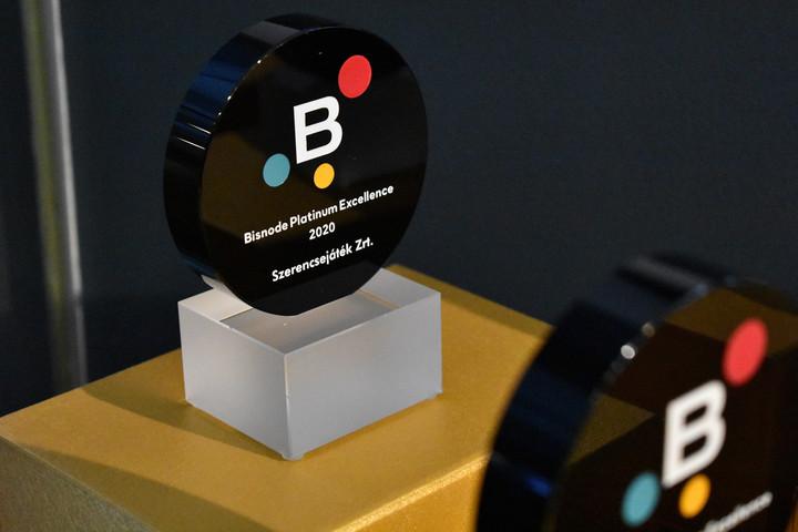 A Szerencsejáték Zrt. elnyerte a pénzügyileg legstabilabb cégeknek járó minősítést