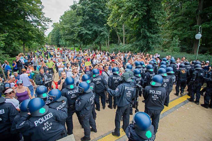 Aggódik a német rendőrség