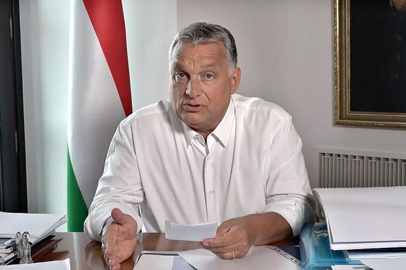 """Orbán Viktor: A jogállamiságról szóló vita a """"fukarok"""" titkos fegyvere"""