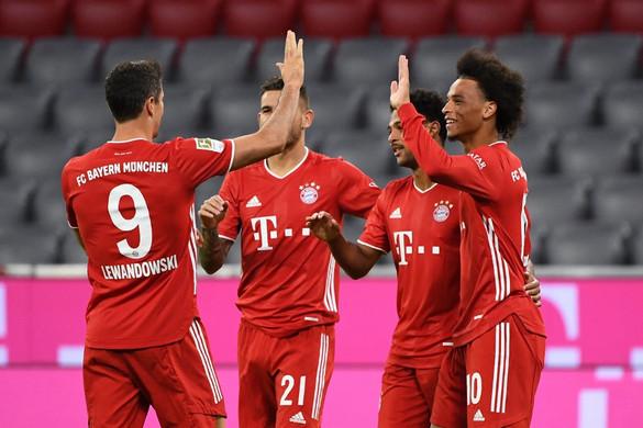 Brutális Bayern: Nyolc gólt vágva gázolt át a Schalkén a címvédő