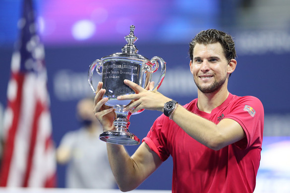 Dominic Thiem nyerte a US Opent
