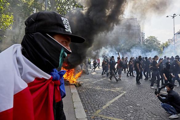 Összecsapások voltak Párizsban