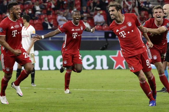 Hosszabbításban verte a Sevillát a Bayern München