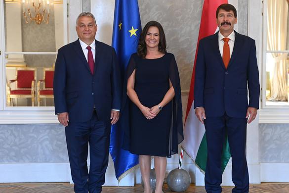 Kinevezték miniszterré Novák Katalint