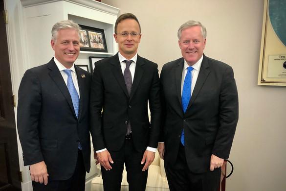 Magyarország támogatja az Egyesült Államok béketervét