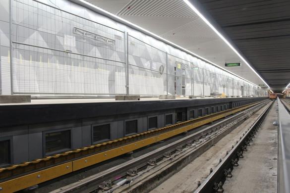 Elkezdődött a műszaki átadás a 3-as metró déli szakaszán